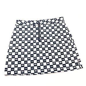 RARE Vans x Lazy Oaf Eyeball Checkered Skirt